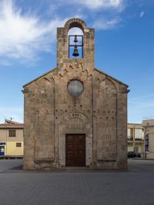 Façade de San Pietro à Villa San Pietro