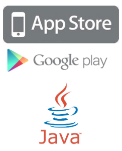 Logo Apple Google Java